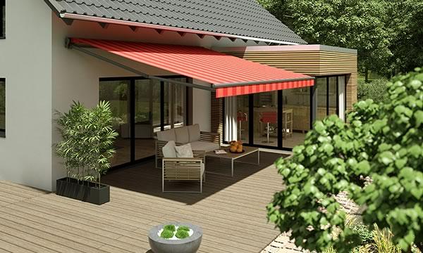 Terrassen Markisen Wasserdicht Cool Fr Balkon Und Garten
